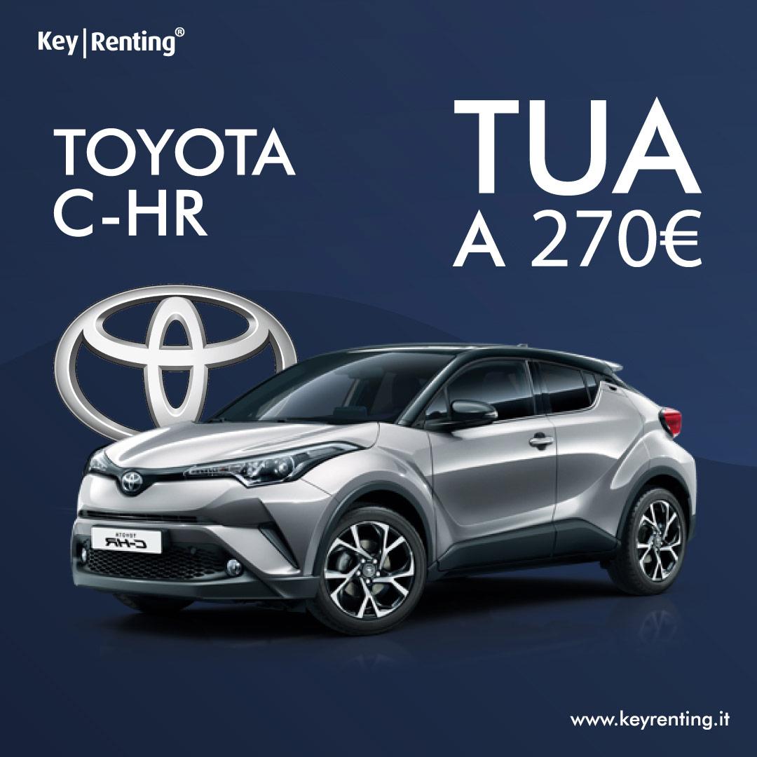 Noleggio Toyota CH R 1.8 Active E CVT