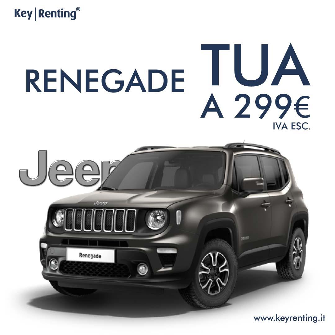 Key renting jeep renegade noleggio lungo termine offerta
