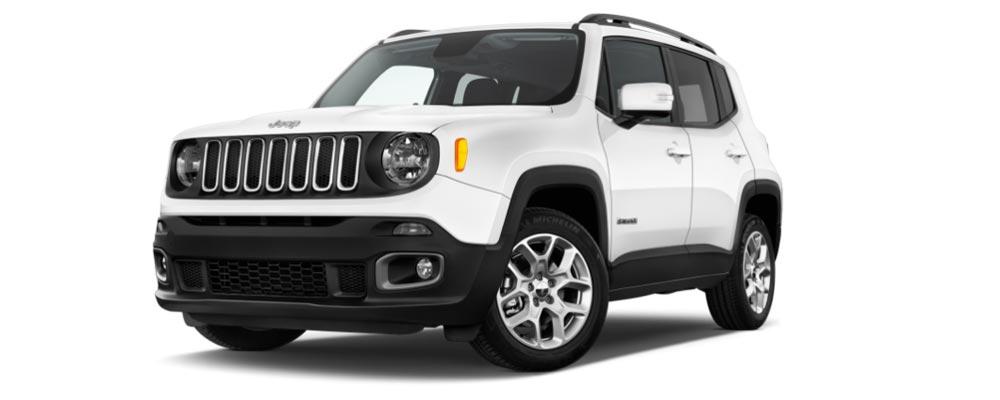 Scegli Jeep Renegade T3 120cv Longitude con il noleggio a lungo termine