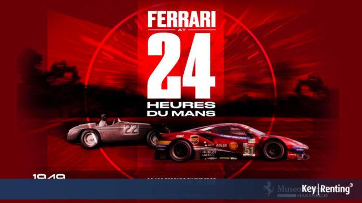 Museo Ferrari, tutto pronto per la mostra dedicata alla 24 ore Le Mans