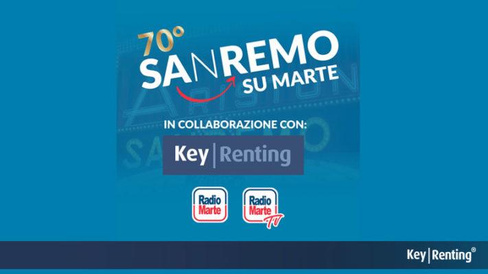 Sanremo: Keyrenting sponsor ufficiale di Radio Marte