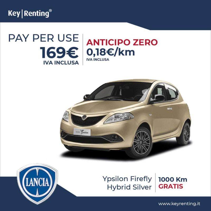 Offerta noleggio Pay per Use Lancia Ypsilon